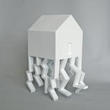 The House As A Metaphor- (Walking House) by Michael Jantzen