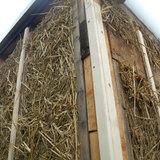 Light Straw Clay- Garage Retrofit..under construction via Melissa Elle Toman