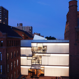 Pratt Institute Higgins Hall Insertion in Brooklyn, New York, by Steven Holl Associates. Image courtesy of the MCHAP.