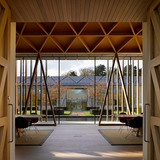 Waddesdon Manor: Windmill Hill: View through Reading Room, office in background (Photo: Richard Bryant Photography)