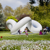 Peace Pavilion in London, UK by ATELIER ZÜNDEL CRISTEA; Photo: Sergio Grazia