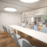 Multifunctional room - extended. Image via go-design.co