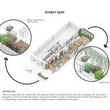 Metabolism. Ground/Work Competition Finalist Entry by Of Possible Architectures. Image courtesy of OPA.