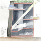 Knut Hamsun Centre. Courtesy of Steven Holl Architects.