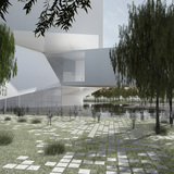 South Cube. Image: Steven Holl Architects.