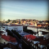 Lisbon skyline. Image courtesy 5468796 Architecture.