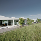 Courtyard Houses Zumikon in Meilen, Switzerland by Think Architecture AG; Photo: Think Architecture