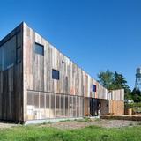 Meier Road 1 in Sebastopol, CA by Mork Ulnes Architects; Photo: Bruce Damonte