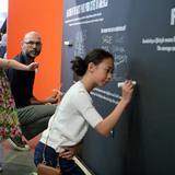 Rethink LA exhibition opening, August 4 (Photo courtesy of Rethink LA)