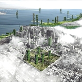 Fougeron Architecture's vision for SF's farm-skyscrapers (2008). Courtesy of Architizer.