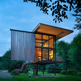 Ten recipients for AIA Housing Awards. Above: Sol Duc Cabin (Seattle) by Olson Kundig Architects. Photo: Benjamin Benschneider