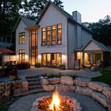 Brass Residence by 3tarchitects.