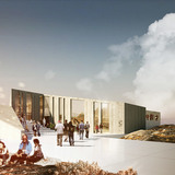 Rendering, Culture Center, summer (Image: David Garcia Studio and Henning Larsen Architects)