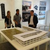 WAI co-founders Nathalie Frankowski and Cruz Garcia, with standardarchitecture founder Zhang Ke