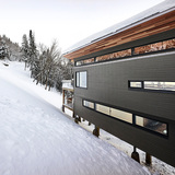 Laurentian Ski Chalet in St. Donat, Canada by RobitailleCurtis