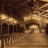 St. John's Presbyterian Church in Berkeley, Calif. Image courtesy of Mark Anthony Wilson; Julia Morgan, Architect of Beauty.