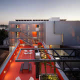 Multi-Family-Affordable Housing Award: 28th Street Apartments (Photo: Eric Staudenmaier Photography), Design/Executive Architecture Firm: Koning Eizenberg Architecture, Inc. Contractor Company: Alpha Construction Co. Inc.