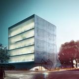 Exterior rendering (Image courtesy of Adrian Yau, Frisly Colop Morales, Jason Easter, Lukasz Wawrzenczyk)