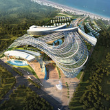 Aedas Limited, with Oasis Mall, Sanya, China