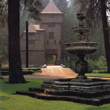 The Hearst Wyntoon Estate in McCloud, Calif. Image courtesy of California Polytechnic State University, San Luis Obispo, Robert E. Kennedy Library, Sarah Holmes Boutelle Archive.