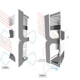 Double height spaces diagram. Image: UNStudio