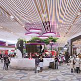 Retail Zone. Image courtesy of SAA and Benoy.