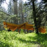 Pine Creek Pavilion in Pine Creek, MT by Artemis Institute