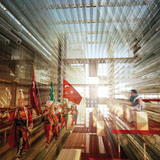 Special Mention/Interior Architecture: Wave Cube: Turkish Pavilion for Expo Yeosu, Onat Oktem, Zeynep Oktem, Ziya Imren, Turkey