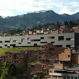 Fernando Botero Library Park in San Cristobal, Columbia, by G Ateliers Architecture (Orlando Garcia). Image courtesy of the MCHAP.
