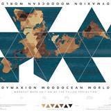 Dymaxion Woodocean World, Nicole Santucci + Woodcut Maps, United States