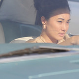 A screenshot of a film adaptation 'Love Lost While Driving Down the 405' written by Kai Mai. The story is told from the narrators perspective of the strains on a relationship due to the struggle of Los Angeles traffic. Movie stillshot by Maya Santos and Orly Shuber.