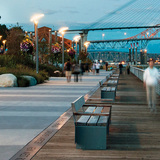 CIVIC DESIGN PROJECTS: Westminster Pier Park (New Westminster, BC) by PWL Partnership Landscape Architects Inc. Photo: PWL Partnership Landscape Architects Inc
