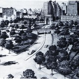 Robert Moses' Fifth Avenue Extension. Courtesy of Distributed Art Publishers, Inc.