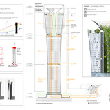Honorable Mention. The Blossom Tower. Anthony Fieldman / RAFT Architects (United States)