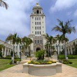 Beverly Hills city hall, image via FilmTalk blog.