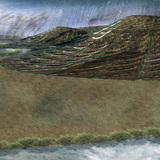 The facade in a hurricane. (Image: John Naylor)