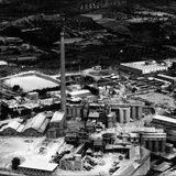 Archive photo of the original factory. Courtesy Ricardo Bofill Taller de Arquitectura