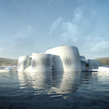 Rendering, view from sea (Image: soma)