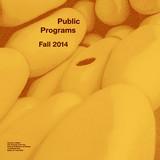 University of Buffalo, School of Architecture and Planning: Fall 2014 Public Programs. Image via ap.buffalo.edu