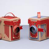 VIDDY: The adorable 30-minute DIY pinhole camera kit by London-based designer Kelly Angood. Photo by Jonathan Minister, via Kickstarter