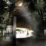 View corridor to the park (Image: KAMJZ)