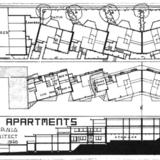 Laurelwood Apartments orignal design by R.M. Schindler