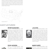Guest lecturers for SDSU's Fall '13 lecture series. Image courtesy of SDSU.