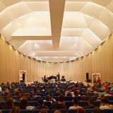 Paper Concert Hall, 2011, L'Aquila, Italy. Photo by Didier Boy de la Tour