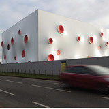 Magma Architecture, with London Shooting Ranges, Woolwich, London, UK