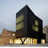 Ferreries Cultural Centre in Tortosa, Spain by ARQUITECTURIA; Photo: Pegenaute