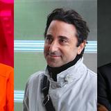The RIBA Grand Jury (left to right): Richard Rogers, Philip Gumuchdjian, Kunlé Adeyemi. The full jury will be announced in 2016.