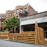 Boston Architectural College partnered with the Boston Green Academy to develop a Parklet for the City of Boston
