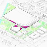 Miami Beach Square, diagram (Image courtesy of BIG)