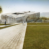 Ground approach (Image: Matteo Cainer Architects)